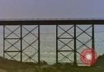 Image of Train on high trestle United States USA, 1985, second 6 stock footage video 65675027206