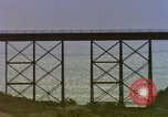 Image of Train on high trestle United States USA, 1985, second 7 stock footage video 65675027206