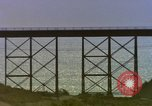 Image of Train on high trestle United States USA, 1985, second 8 stock footage video 65675027206