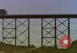 Image of Train on high trestle United States USA, 1985, second 9 stock footage video 65675027206