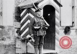 Image of Sentry at British Headquarters France, 1918, second 6 stock footage video 65675027221