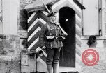 Image of Sentry at British Headquarters France, 1918, second 9 stock footage video 65675027221