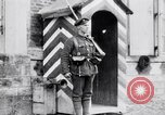 Image of Sentry at British Headquarters France, 1918, second 10 stock footage video 65675027221