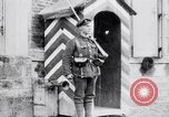 Image of Sentry at British Headquarters France, 1918, second 11 stock footage video 65675027221