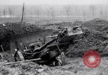 Image of Captured German 5.9 inch guns France, 1918, second 11 stock footage video 65675027223