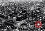 Image of British soldiers in bomb crater France, 1918, second 10 stock footage video 65675027224