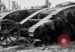 Image of British Mark I (male) tanks France, 1916, second 7 stock footage video 65675027226