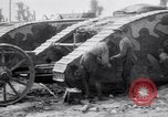 Image of British Mark I (male) tanks France, 1916, second 8 stock footage video 65675027226