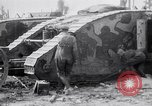 Image of British Mark I (male) tanks France, 1916, second 10 stock footage video 65675027226