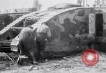 Image of British Mark I (male) tanks France, 1916, second 11 stock footage video 65675027226