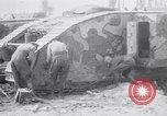 Image of British Mark I (male) tanks France, 1916, second 12 stock footage video 65675027226