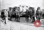 Image of British Mk I tank Arras France, 1917, second 10 stock footage video 65675027231