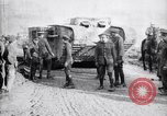 Image of British Mk I tank Arras France, 1917, second 12 stock footage video 65675027231