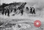 Image of British 8 inch howitzers France, 1917, second 8 stock footage video 65675027234