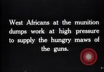 Image of West African soldiers France, 1917, second 6 stock footage video 65675027235