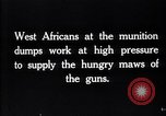 Image of West African soldiers France, 1917, second 8 stock footage video 65675027235
