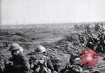 Image of British infantry move out of trenches France, 1917, second 10 stock footage video 65675027237
