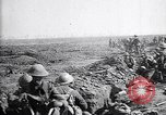 Image of British infantry move out of trenches France, 1917, second 12 stock footage video 65675027237