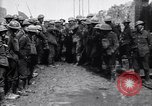 Image of German prisoners carry heavy machine gun France, 1917, second 7 stock footage video 65675027242