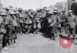 Image of German prisoners carry heavy machine gun France, 1917, second 9 stock footage video 65675027242