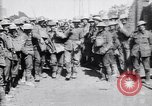 Image of German prisoners carry heavy machine gun France, 1917, second 12 stock footage video 65675027242