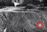 Image of Huge crater France, 1917, second 10 stock footage video 65675027249