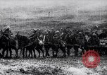 Image of French artillery being positioned Monchy France, 1915, second 8 stock footage video 65675027252
