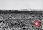 Image of British artillery pulled by horses France, 1917, second 8 stock footage video 65675027253