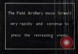Image of British artillery rushed to the front France, 1917, second 1 stock footage video 65675027254