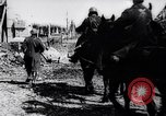 Image of British artillery rushed to the front France, 1917, second 10 stock footage video 65675027254