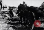 Image of British artillery rushed to the front France, 1917, second 11 stock footage video 65675027254
