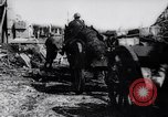 Image of British artillery rushed to the front France, 1917, second 12 stock footage video 65675027254