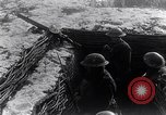 Image of British Army troops in a trench France, 1918, second 6 stock footage video 65675027267