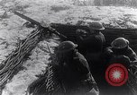 Image of British Army troops in a trench France, 1918, second 7 stock footage video 65675027267