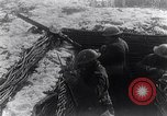 Image of British Army troops in a trench France, 1918, second 8 stock footage video 65675027267