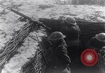 Image of British Army troops in a trench France, 1918, second 9 stock footage video 65675027267