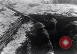 Image of British Army troops in a trench France, 1918, second 11 stock footage video 65675027267