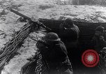 Image of British Army troops in a trench France, 1918, second 12 stock footage video 65675027267