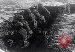 Image of British soldiers in a trench on the Western Front France, 1918, second 10 stock footage video 65675027271