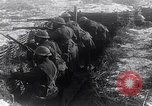 Image of British soldiers in a trench on the Western Front France, 1918, second 12 stock footage video 65675027271