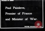 Image of Paul Painleve France, 1918, second 1 stock footage video 65675027274