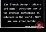 Image of French Army recruits France, 1917, second 1 stock footage video 65675027279