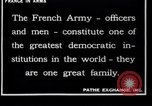 Image of French Army recruits France, 1917, second 4 stock footage video 65675027279
