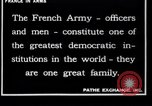 Image of French Army recruits France, 1917, second 5 stock footage video 65675027279