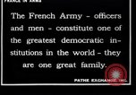 Image of French Army recruits France, 1917, second 12 stock footage video 65675027279