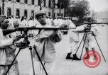 Image of French soldiers train with rifles France, 1918, second 6 stock footage video 65675027280