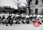 Image of French soldiers drilling France, 1917, second 9 stock footage video 65675027281