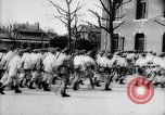 Image of French soldiers drilling France, 1917, second 10 stock footage video 65675027281