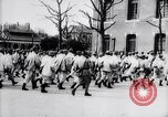 Image of French soldiers drilling France, 1917, second 11 stock footage video 65675027281