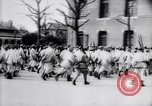 Image of French soldiers drilling France, 1917, second 12 stock footage video 65675027281